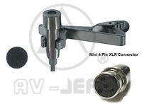 Professional Lapel Microphone For Shure Wireless L1 Lx1 Sc1 U1 Uc1 Ut1 Slx
