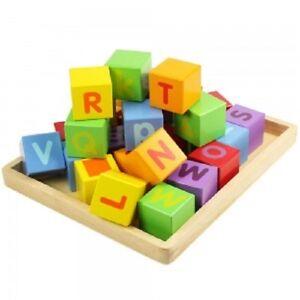 Spielzeug Dauerhafte Modellierung Bigjigs Toys Bb032 Abc-würfel Neu & Ovp Spielzeug