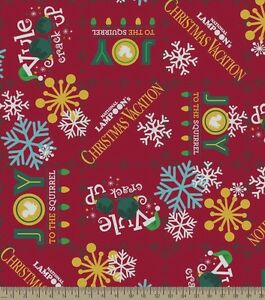 image is loading christmas vacation yule crack up lampoons fleece fabric