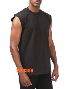c00826b59 LOT 5 PRO CLUB SLEEVELESS T SHIRTS MEN'S HEAVYWEIGHT MUSCLE TANK TOP ...