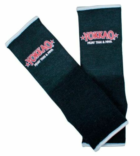 Yokkao BLACK Ankle  Supports Muay Thai Protection Anklet pair