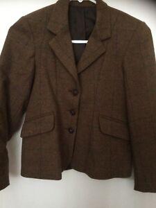 """Caldene Marron Veste En Tweed Taille 28""""-afficher Le Titre D'origine CaractèRe Aromatique Et GoûT AgréAble"""