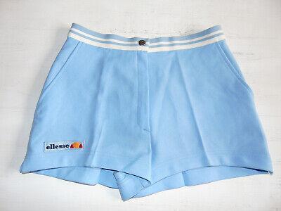 Franco Vintage 80 90 Ellesse Shorts Xxs 44 Pantaloncini Og Tennis Azzurro Borg Mcenroe E La Digestione Aiuta