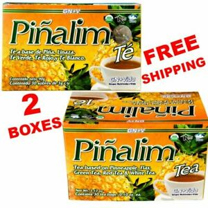 2 Te Pinalim Tea GN+Vida ENVIO GRATIS 60 days Pinalim Pineapple Diet FREE SHIP