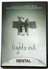 Lights Out (DVD, 2016) - Rental Version