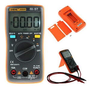 Handheld-Pocket-Digital-Multimeter-Auto-Range-AC-DC-Volt-Temp-Resistance-Meter