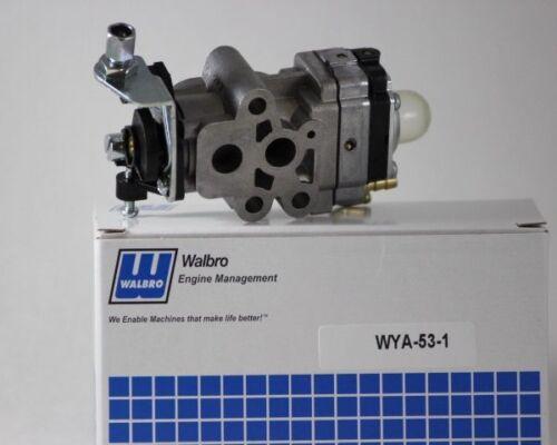 Walboro Carburetor WYA-53-1 Fits Red Max BCZ2450S EXZ2401S HEZ2401S