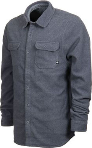 686 Airflight Rodeo Button Down Top Charcoal L