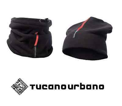 Collare Cappello Scaldacollo Pile Tucano Urbano 614-N