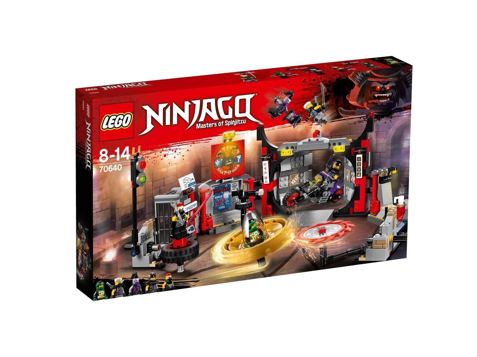 11-5-2 LEGO ® Ninjago  70640  quartier generale dei motociclisti Merce Nuova