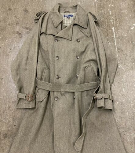 Vintage 80s Polo By Ralph Lauren 100% Wool Milita… - image 1