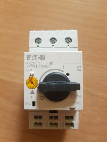 Motor protection switch 0,63-1A Moeller * NEW ** 20 Piece EATON PKZM 0-1