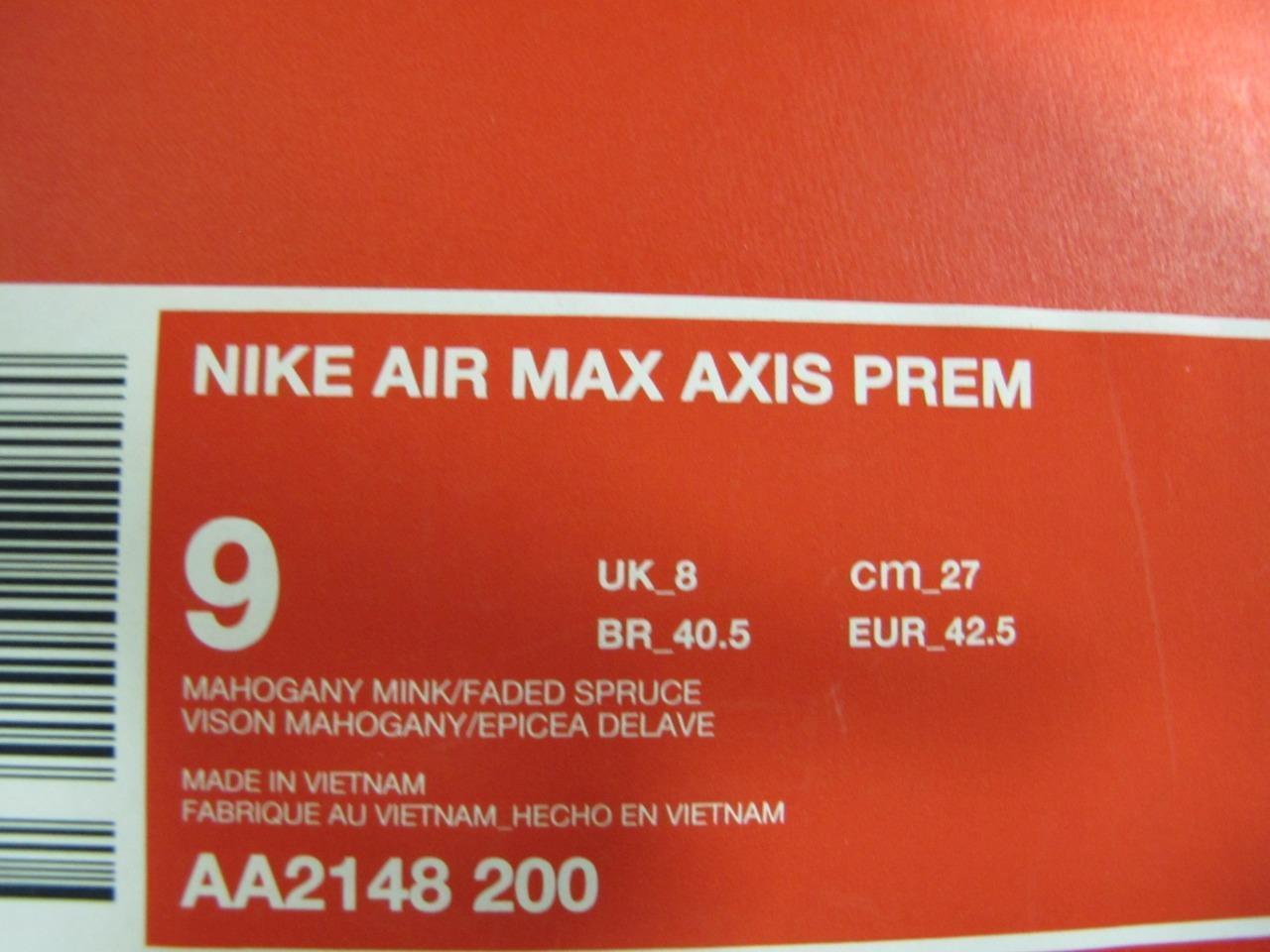 NEW uomo NIKE AIR MAX AXIS PREM PREM PREM AA2148-200 773bc7