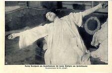 Sahrah Bernhardt als Kameliendame bei Ihrem Gastspiel Hebbeltheater Berlin 1908