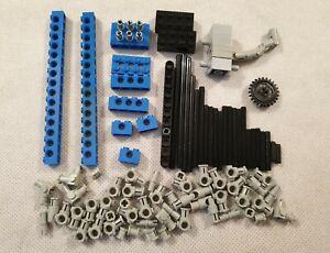 Mixed Fascio di VINTAGE LEGO TECHNICS blocchi e pezzi vari