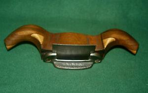 Antique-Interior-Hardwood-Co-Rams-Horn-Cabinet-Maker-039-s-Scraper-Plane-Inv-HK19