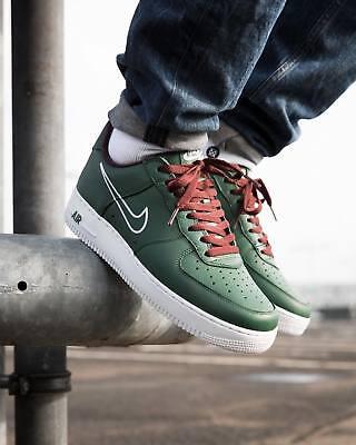 air force 1 uomo verde militare
