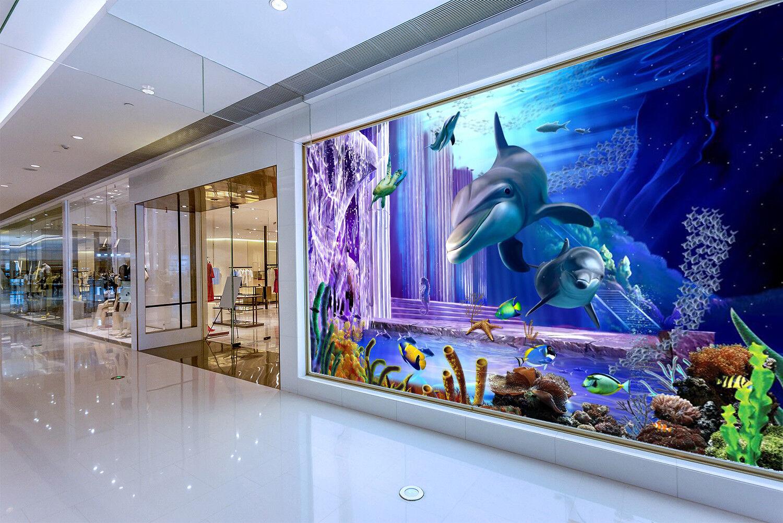 3D Magical Sea Floor 7 Wall Paper Murals Wall Print Wall Wallpaper Mural AU Kyra