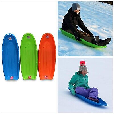 Flexible Flyer Lightning Snow Sleds for Kids /& Adults Plastic Toboggan Sand ...