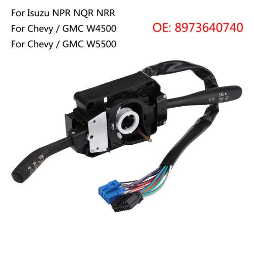Combination Switch Wiper Turn Signal for Isuzu NPR NQR NRR Chevy GMC 8973640740