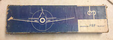 EXTREMELY RARE F-8 GRUMMAN BEARCAT - WOOD MODEL IN THE ORIGINAL BOX