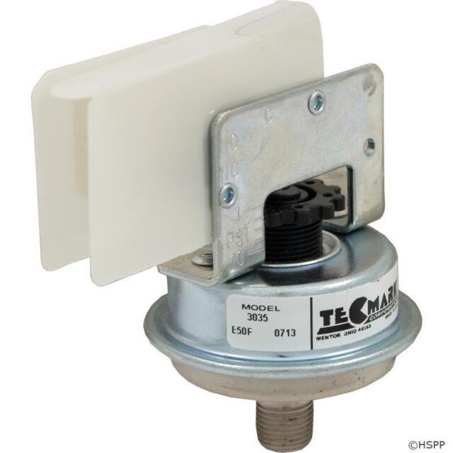Tecmark Universal Pressure Switch Spa Tub Pool Heater 1AMP A2F SPNO 3902 3903