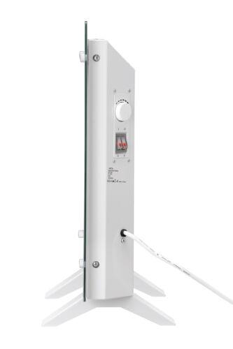 NETTA 3 Vitesses Ventilateur de Bureau oscillant 30 cm Noir//Argent