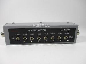 1PCS-NEW-0-82DB-VARIABLE-STEP-ATTENUATOR-50-OHM-for-Ham-Radio-Transmitter-etc