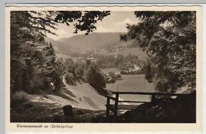 42658-Foto-AK-Warmensteinach-Fichtelgebirge-Panorama