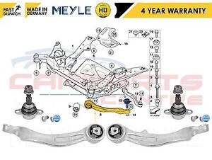 FOR-BMW-5-SERIES-E60-E61-xDRIVE-FRONT-SUSPENSION-CONTROL-ARMS-BALL-JOINTS-MEYLE