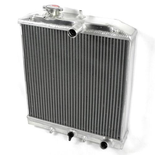 Sudario ventilador de refrigeración para 1992-2000 Honda Civic EG EK B16 B18 Radiador De Aluminio