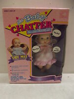 Vintage Toymax Lil Baby Chatter Doll
