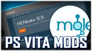 Details about Sony PS VITA Henkaku 3 60 -3 72 CFW Modding Emulators  Homebrew Mail In Service!
