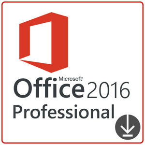 ENGLISH ENGLISCH Microsoft Office 2016 Professional Plus 32+64Bit Key Download