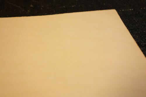 """24/"""" x 12/"""" Full Grain Vegetable Tanned Tooling Leather Piece /""""Natural Quality/"""""""