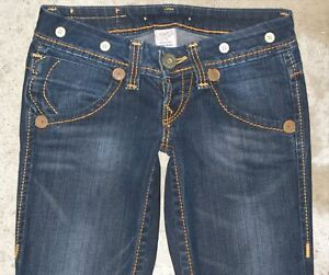 True Bootcut Heritage Low 26 T Distressed Sz Dark Women Jeans Bobby grandi Religion prvtr