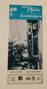 Vintage-Travel-Brochure-Motel-Malibu-Guadalajara-Mexico-Advertising-1968