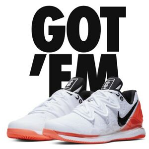 0f9ae0f6f922 NIKE COURT AIR ZOOM VAPOR X KYRIE 5 KYRGIOS SIZE 10 TENNIS SOLD OUT ...
