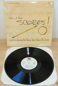 LP-THE-L-A-FOUR-Scores-Concord-Jazz-77-ITALY-Almeida-Brown-Manne-Shank-NM