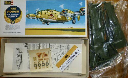B-24 four Engine bombarderos Air Power Revell h137 kit 1:96 OVP Å *