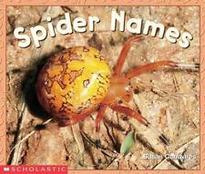 Spider Names Emergent Readers By Canizares Susan