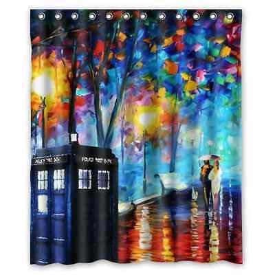 """Doctor Who Shower Curtain Bath Decor Curtain 60 """" x 72 """""""