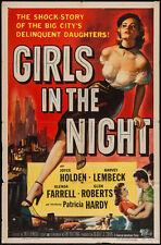 "1953 Girls of the night vintage film Poster Replica 13x19"" Photo Print"