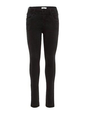 Name It Jeans Legging Hose Nkfpolly Dnmcille Schwarz Größe 128 Bis 164