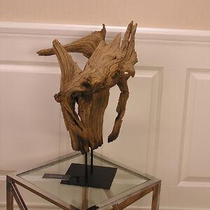 Treibholz Deko schwemmholz statue skulptur treibholz deko dekoration shabby chic