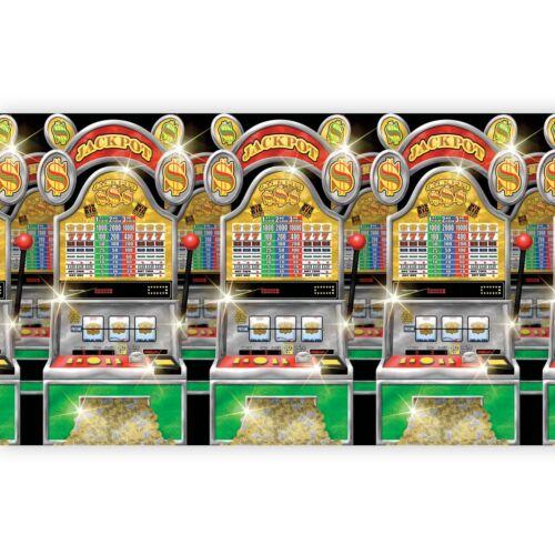 40ft Slot machine Room Roll Party Vegas Casino Jackpot Poker Birthday Decoration