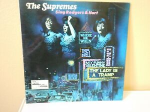 The-Supremes-034-Sing-Rodgers-and-Hart-034-12-034-vinyl-LP-EX-EX