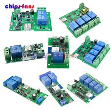 124 Channel Usb Smart Switch Wifi Relay Module 433mhz Remote Control App
