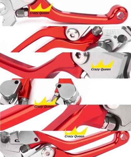 SET Clutch Brake Levers For Honda CRF250R//CRF450R 2007-2020 Pivot Bike Dirt 2017