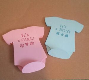 Custom-made-Hand-stamped-baby-boy-girl-In-Pink-or-blue-gift-cards-Pk-20-50-100